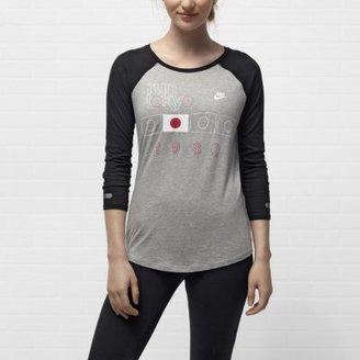 Nike Run Tokyo 3/4 Women's T-Shirt