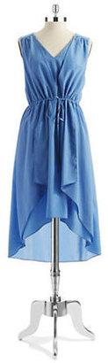 Kenneth Cole NEW YORK Gracey Sleeveless High-Low Dress