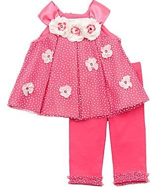 Rare Editions Spring Tunic and Legging Set - Girls 2t-5t