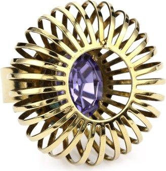 "Anton Heunis Art Deco Renaissance"" Majestic Adjustable Cage Ring"