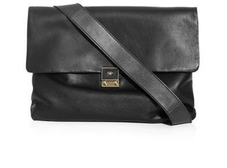 Anya Hindmarch Carker leather crossbody bag