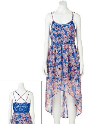 Candies Candie's ® floral hi-low dress - juniors