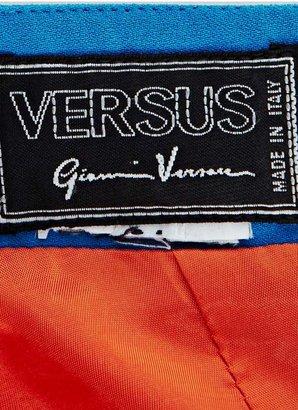 Nasty Gal Gianni Versace Orange Crush Dress