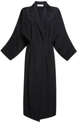 Marni Onice Washed Cloquet Duster Coat