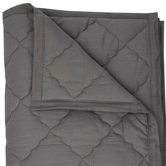 Argington Organic Twin Quilt- Grey