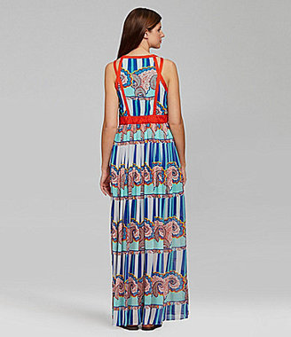 Gibson & Latimer Paisley Maxi Dress