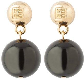 Susan Caplan Vintage 1980s Vintage Givenchy Sphere Earrings