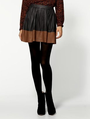 Joie Lusila Leather Skirt