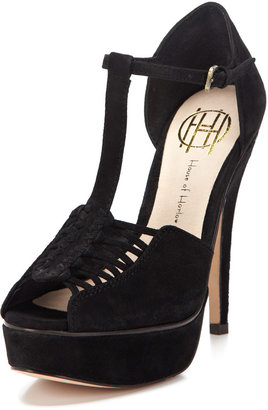 House Of Harlow Laina T-Strap Sandal