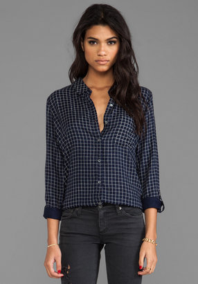 Soft Joie Anabella Plaid Button Down