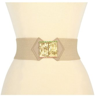 Lilly Pulitzer Bamboozled Belt (Natural) - Apparel