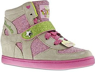 Skechers Hydee Wedge Girls Hi-Tops