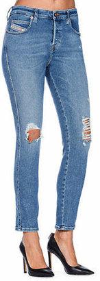 Diesel Babhila 084WP Distressed Skinny Jeans