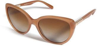 Dolce & Gabbana Acetate Polarized Cat-Eye Sunglasses