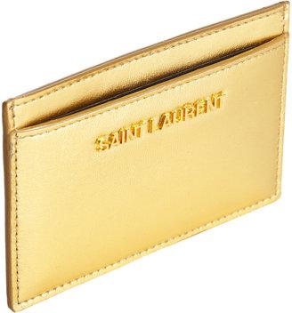 Saint Laurent Letters Card Case