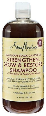 SheaMoisture Jamaican Black Castor Oil Shampoo $10.99 thestylecure.com