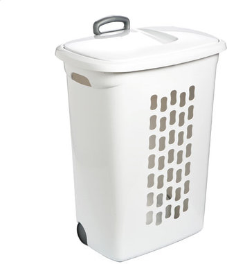 Container Store Hamper with Wheels