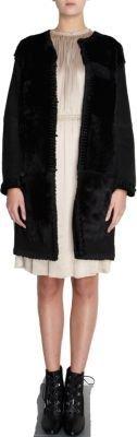 Lanvin Combo Fur Coat