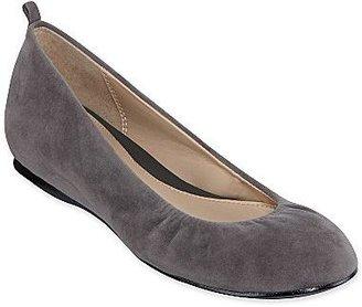 JCPenney Liz & Co.® Misty Leather Ballet Flats