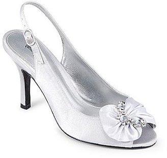 PeepToe Jacqueline Ferrar® Abigail Peep-Toe Slingbacks