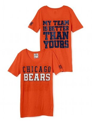 Victoria's Secret PINK Chicago Bears Athletic Tee