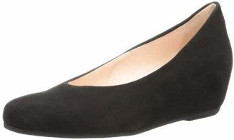 French Sole Women's Justify Suede Wedge Pump
