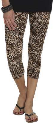 Wet Seal Leopard Print Legging