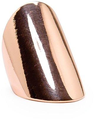 MANGO Rounded smooth ring