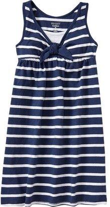 Old Navy Girls Striped Jersey Tank Dresses
