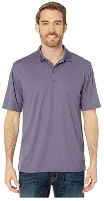 Ariat Tek Polo (Greystone) Men's Short Sleeve Pullover