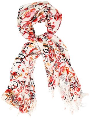 Sonia Rykiel Sonia by Cherry Love Scarf