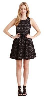 Karen Kane Emma Contrast Lace Dress