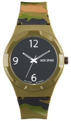 Jack Spade 'Graphic - Camo' Watch, 40mm