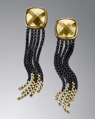 David Yurman Chain Fringe Earrings