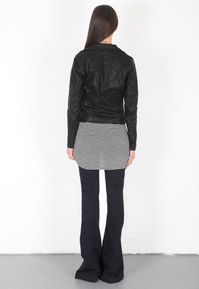 Blank NYC Blank Faux Leather Jacket in Cookie Cutter