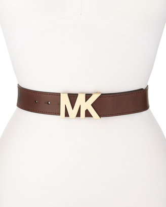 MICHAEL Michael Kors 38mm Leather Belt