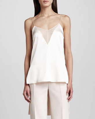 ADAM by Adam Lippes Extended-Back Camisole, Blush