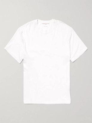 Derek Rose Basel Stretch Micro Modal Jersey T-shirt - White