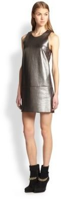 3.1 Phillip Lim Leather Shift Dress