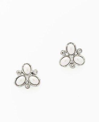 Ann Taylor Pearlized Stud Earrings