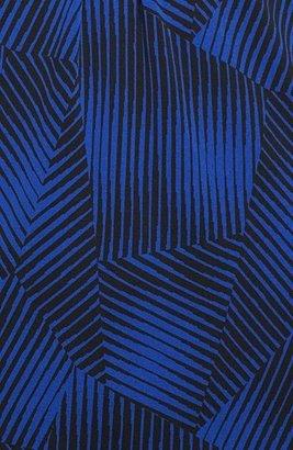 Classiques Entier Print Silk Jersey V-Neck Top