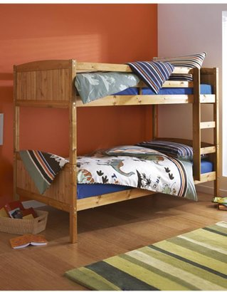 Kidspace Morgan Solid Pine Bunk Bed Frame
