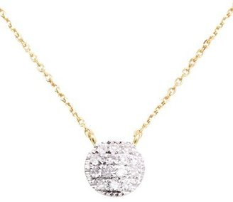 Women's Dana Rebecca Designs 'Lauren Joy' Diamond Disc Pendant Necklace $275 thestylecure.com