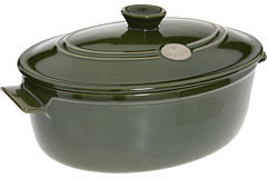 Emile Henry Flame® Oval Stewpot - 6.3 qt.