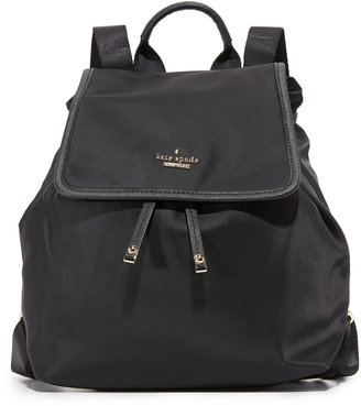 Kate Spade New York Classic Nylon Molly Backpack $228 thestylecure.com