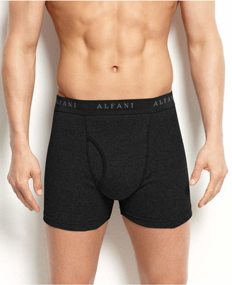 Alfani Men's Underwear, Big and Tall Tagless Boxer Brief 3 Pack $19.98 thestylecure.com