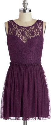 Plum Appetit Dress