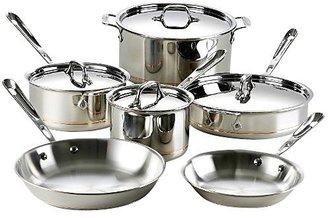 All-Clad Copper Core 10pc Cookware Set