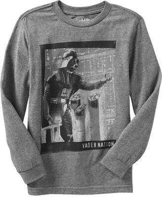 "Star Wars Boys Star Wars™ ""Vader Nation"" Tees"