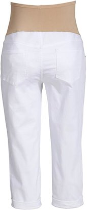 Old Navy Maternity Smooth-Panel Capri Jeans